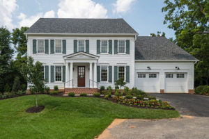 Newly constructed home in Fairfax VA by Robinson & Thayer
