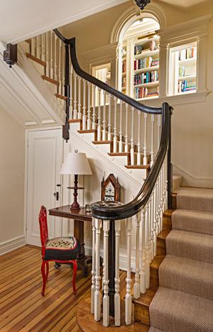 Custom built staircase